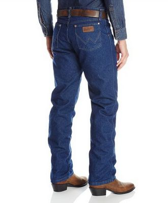 Картинка джинсов на фланелевой подкладке Wrangler 47MWZFL Premium Performance Cowboy Cut Regular Fit Flannel Lined Jeans