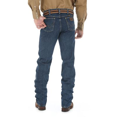 Картинка джинсов Wrangler 47MWZWD Premium Performance Cowboy Cut Regular Fit Jeans - Worn Dark