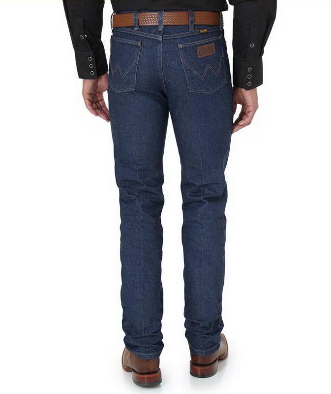 6db47ce313d Джинсы Wrangler 0036MWZ Premium Performance Cowboy Cut Slim Fit Jean Rigid  (жесткие)