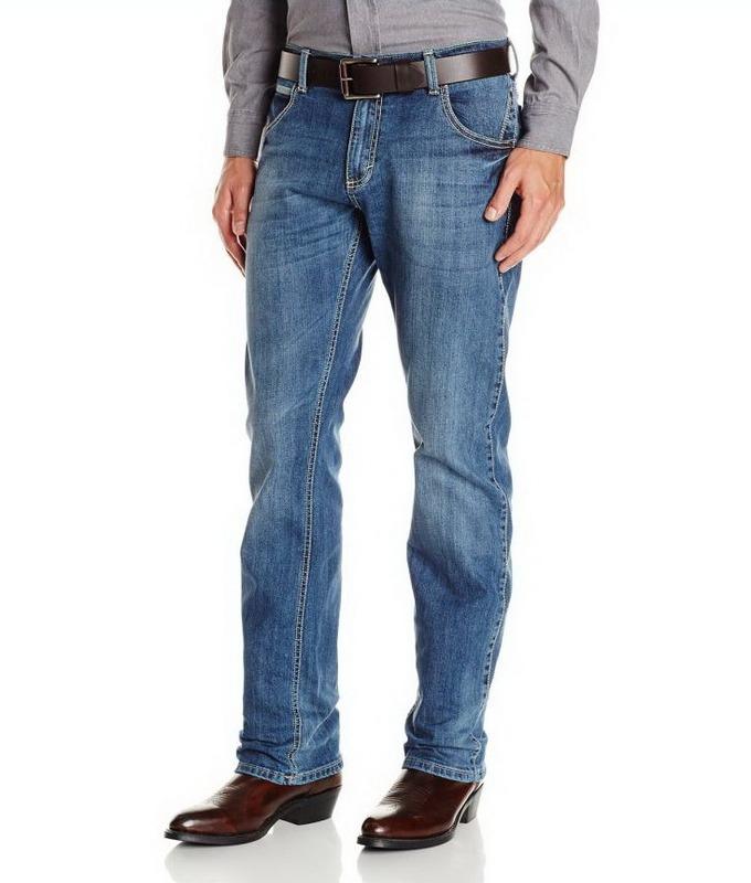 e3023cbf1c9 Джинсы Wrangler WLT88CN Men s Retro Slim Fit Straight Leg Jeans - Chandler