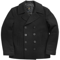 Морской бушлат Alpha Industries USN Pea Coat