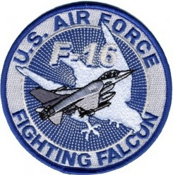 Нашивка U.S. AIR FORCE FIGHTING FALCON