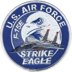Нашивка U.S. AIR FORCE F-15E STRIKE EAGLE