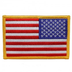 "Нашивка American Flag Patch 3 1/2"" Reversed"