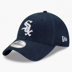 Джинсовая бейсболка Levis X New Era MLB Chicago White Sox Denim Baseball Cap