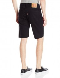 Джинсовые шорты Levis 505 Regular Fit Shorts - Black