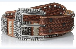 Ремень Ariat Square Bling Natural Belt