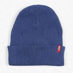 Шапка Levis Ribbed Beanie Dark Blue