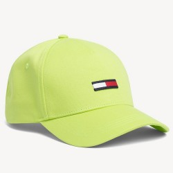 Бейсболка Tommy Jeans Flag Acid Lime Green