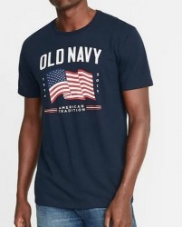 Футболка Old Navy 2019 Flag Graphic Tee