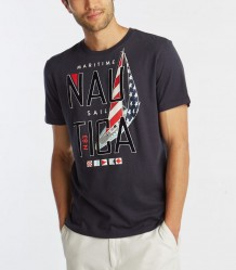 Футболка Nautica Maritime Sail Graphic T-Shirt