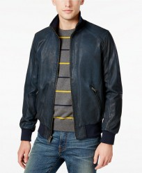 Кожаная куртка Tommy Hilfiger Industrialist Leather Jacket