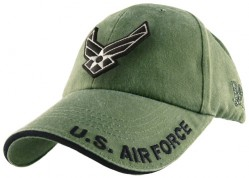 Бейсболка US Air Force Logo Cap - OD Green