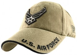 Бейсболка US Air Force Logo Cap - Khaki