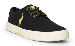 Кеды Polo Ralph Lauren Faxon Canvas Low Sneaker