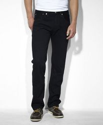 Джинсы Levis 501 Original Fit Jeans - Black