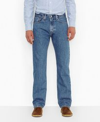 Джинсы Levis 505 Regular Fit Jeans - Medium Stonewash