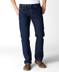 Джинсы Levis 501 Original Fit Jeans - Rinsed