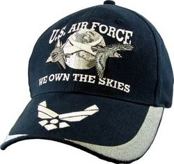 Бейсболка US Air Force Cap - We Own The Skies