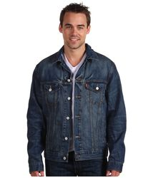 Куртка джинсовая Levis Standard Fit Trucker Jacket - Dark Summit