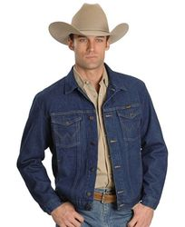 Куртка джинсовая Wrangler Western Unlined Denim Jacket