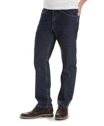 Джинсы Lee Regular Fit Straight Leg Jeans - Dark Stonewash