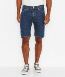 Джинсовые шорты  Levis 505 Regular Fit Shorts - Dark Stonewash