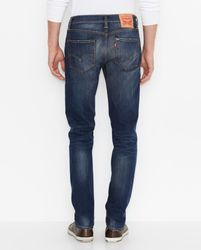 Джинсы Levis 511 Slim Fit Stretch Jeans - Blue Canyon Dark