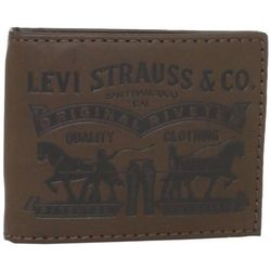 Портмоне Levis Bret Front Pocket Wallet