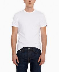 Комплект футболок Levis Standard Fit Crewneck Tees (2-Pack) - White