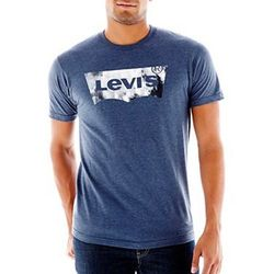 Футболка Levis Logo Tee - Navy Heather
