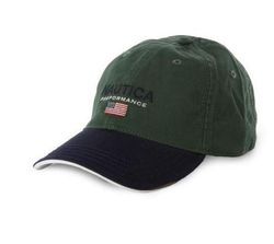 Бейсболка Nautica USA Flag Performance Hat - Dark Green