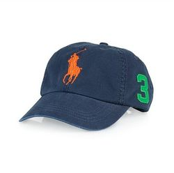 Бейсболка Polo Ralph Lauren Classic Chino Sports Cap - Aviator Navy