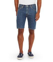 Шорты джинсовые Levis 505 Regular Fit Shorts - Medium Stonewash