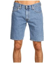 Джинсовые шорты Levis 505 Regular Fit - Light Stonewash