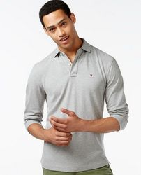 Поло с длинным рукавом Tommy Hilfiger Long-Sleeve Classic-Fit Polo