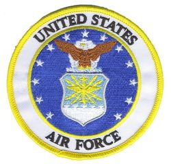 НАШИВКА UNITED STATES AIR FORCE PATCH 4""